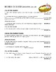 The Old Testament - Bible Worksheet  Activity