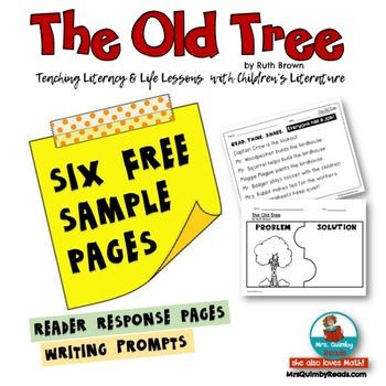 The Old Tree | by Ruth Brown | Reader Response | FREE