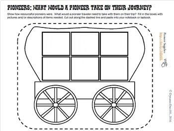 Pioneers & Westard Expansion Lesson Plans and Interactive Notebook Activities