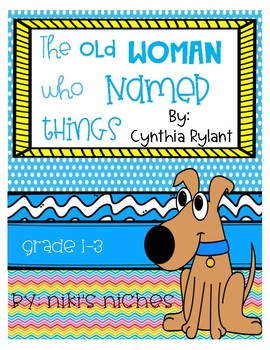 The Old Woman Who Named Things Book Study