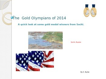 The Olympians Of 2014