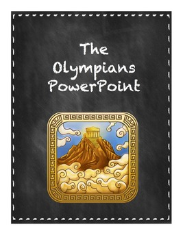 The Olympians PowerPoint