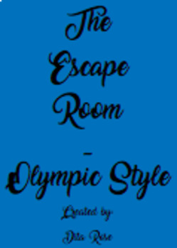 The Olympic Escape Game - Olympic Style