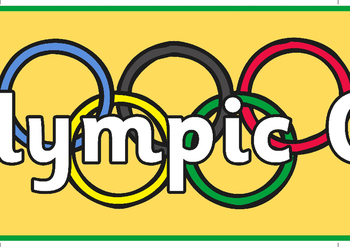 The Olympic Games Display Banner