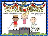 The Olympic Games: Pre-K and Kindergarten Activities
