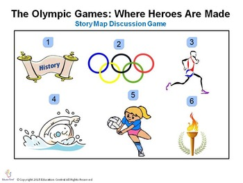 The Olympic Games: Where Heroes Are Made Comprehension Game
