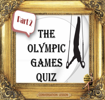 The Olympic games ESL adult and kid conversation