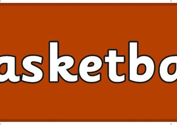 The Olympics Basketball Display Banner