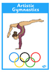 The Olympics Events Equipment Display Posters