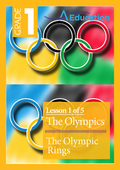 The Olympics (Lesson 1 of 5) - The Olympic Rings - Grade 1