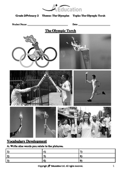 The Olympics (Lesson 3 of 5) - The Olympic Torch - Grade 2