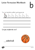 The Olympics Letter Formation Workbook
