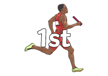 The Olympics Ordinal Number (on Athletes)