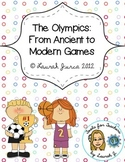 The Olympics: Read and Retell- FREE