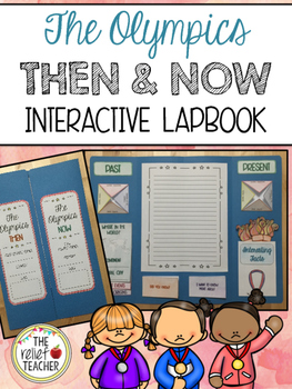 The Olympics: Then & Now *Interactive Lapbook*