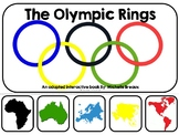 The Olympics--an adapted book (Autism, Special Ed., SLP)