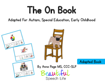 Prepositions: The On Book Adapted for Autism Special Education Speech Therapy