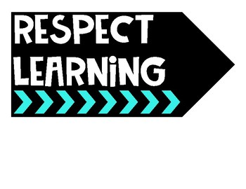The One Classroom Rule: RESPECT Display Posters and Activity Pack