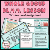 Context Clues, Word Meaning, & Figurative Lang.-4th Grade RL.4.4. DIGITAL LESSON