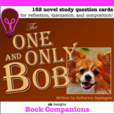 The One and Only Bob Novel Study Cards for Classroom & Dis