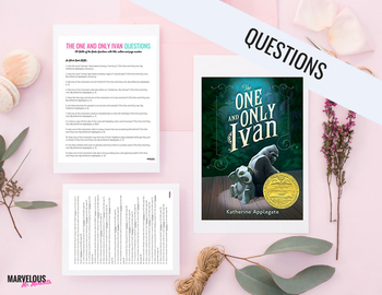 The One and Only Ivan -130 Literal Questions {Battle of the Books}