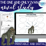 The One and Only Ivan Lessons / Novel Study / Printables