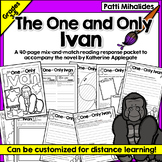 The One and Only Ivan: A Reading-Response Journal for Thir