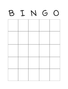 The One and Only Ivan BINGO game