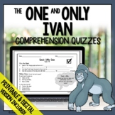 The One and Only Ivan Comprehension Questions