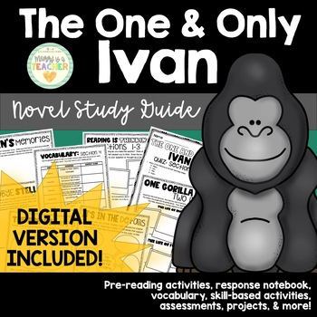 The One and Only Ivan Comprehensive Novel Study
