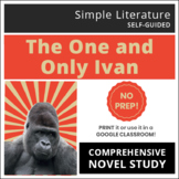 The One and Only Ivan Comprehensive Novel Study - SimpleLit
