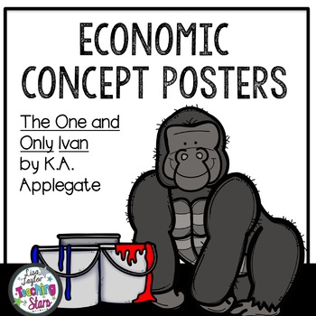 The One and Only Ivan Economic Vocabulary Posters