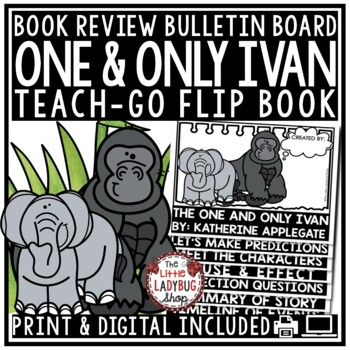 The One and Only Ivan by Katherine Applegate [Flip Book]