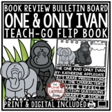 The One and Only Ivan by Katherine Applegate [Flip Book Review Template]