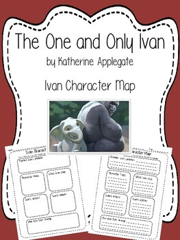 The One and Only Ivan - Ivan Character Map