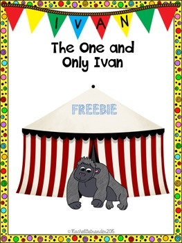 The One and Only Ivan Literature Freebie