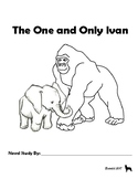The One and Only Ivan Novel Study Book Unit