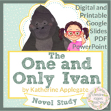 The One and Only Ivan Distance Learning Novel Study, Indep