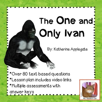 The One and Only Ivan - Novel Study - Comprehension Questions