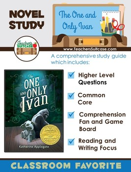 The One and Only Ivan {Novel Study, Comprehension Question