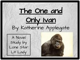 The One and Only Ivan: Novel Study Response Book