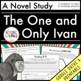 Novel Study Unit for The One and Only Ivan | Distance Learning