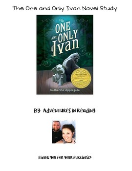 The One and Only Ivan Novel Study with Paired Passages