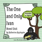 The One and Only Ivan Novel Unit with distance learning option