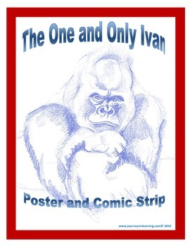 The One and Only Ivan Poster and Comic Strip