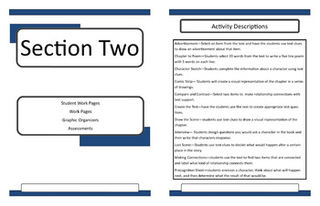 The One and Only Ivan Teacher Guide Novel Unit Lesson Plans
