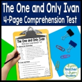 The One and Only Ivan Test: Final Book Quiz with Answer Key