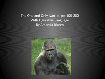 The One and Only Ivan Vocabulary (English and Spanish) Pages 105-200