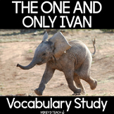 The One and Only Ivan Vocabulary Study