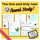 The One and Only Ivan by Katherine Applegate: Printable +